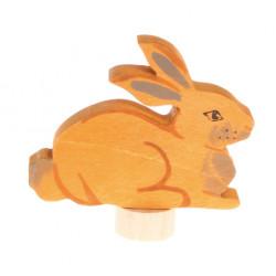 Figura Conejo sentado Grimm's