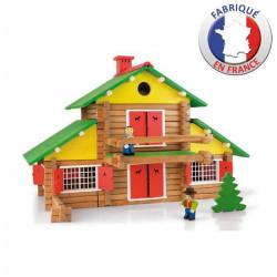Construccion casa de madera...