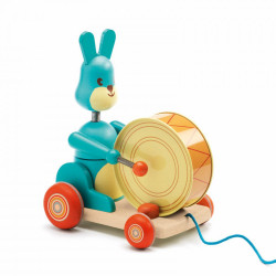 Arrastre Bunny Boum Djeco