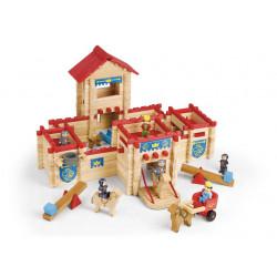 Castillo de madera 300 pzas