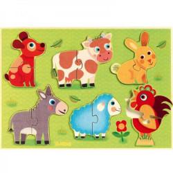 Puzzle Coucou cow DJECO