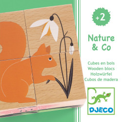 Puzzle Nature & Co DJECO