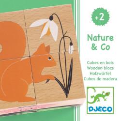 Puzzle Nature & Co DJECO