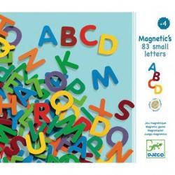 Letras pequeñas magnéticas...