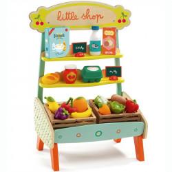 Tienda de frutas y verduras...