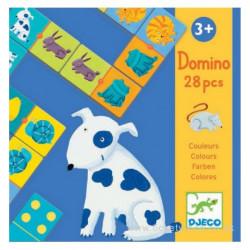 Domino Animales de colores...