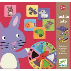 Tactico Loto Animales Djeco