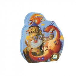 Puzzle Vaillant y el dragón...