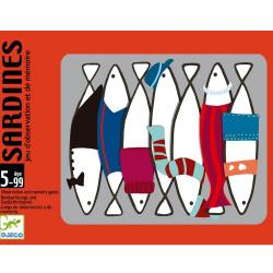 Juego de cartas Sardinas