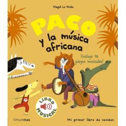 Libro musical Paco y la...