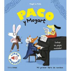 Libro musical Paco y el Mozart
