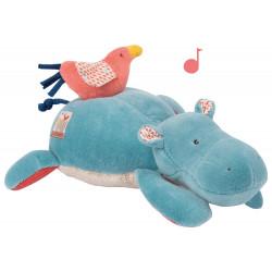 Peluche Musical Hipopotamo...