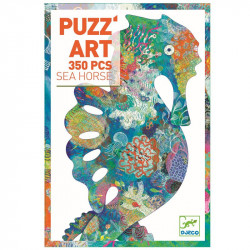 Puzzle Art Seahorse