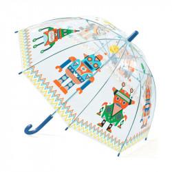 Paraguas infantil Robot djeco