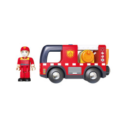Camión de bomberos con...