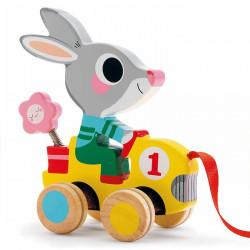 Arrastre Roulapic Conejo Djeco