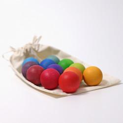 Bolas pequeñas color del...