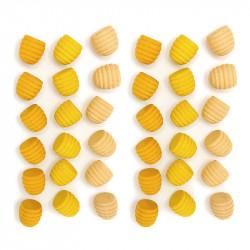 Mandalas paneles amarillos...