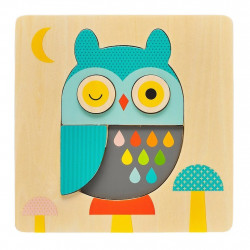 Puzzle Little Owl PetitCollage