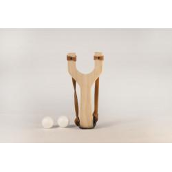Tirachinas de madera casa Mora