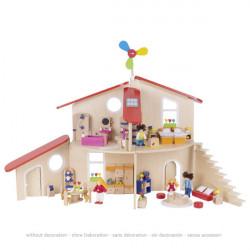Casa de muñecas ecológica Goki