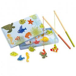 Juego de pesca tropical...