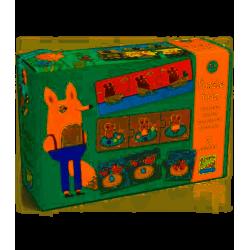 Puzzle Trio Historias djeco