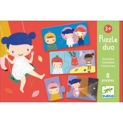 Puzzle Las emociones djeco