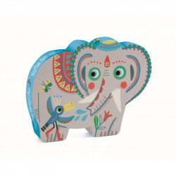 Puzzle Elefante Asiático djeco