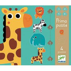 Puzzle Primo En la jungla...