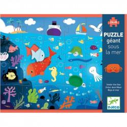 Puzzle táctil bajo el mar...