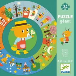 Puzzle Gigante el Año djeco