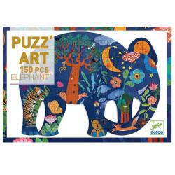 Puzzle Art Elephant