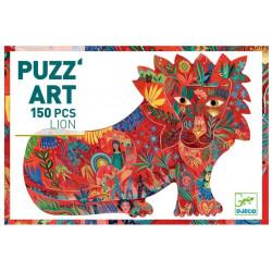 Puzzle Art Lion