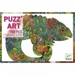 Puzzle Art Camaleón