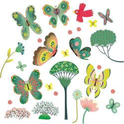 Vinilo Mariposas del jardín...