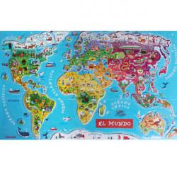 Puzzle el mundo mágnetico...