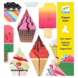 Origami de Helados Delicias...