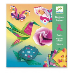 Origami animales tropicales...