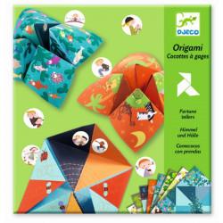 Origami Comecocos animales...