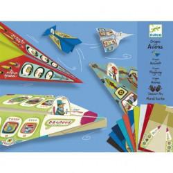 Origami Aviones Djeco