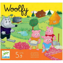 Juego cooperativo Woolfy Djeco