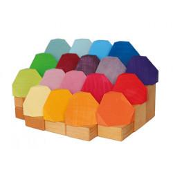 Corner Blocs colores Grimms