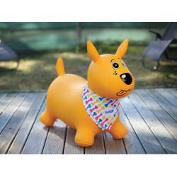 Perro saltarín amarillo Ludi
