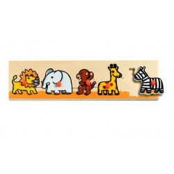 Puzzle Savah & Co Djeco