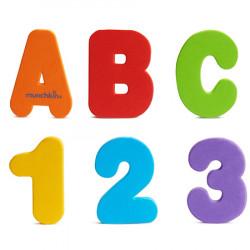 Letras y números para la...
