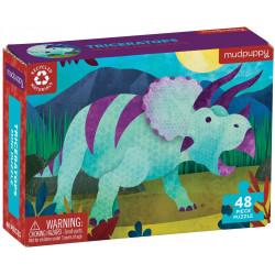 Puzzle Triceratops 48 pzas