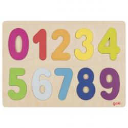 Puzzle numeros 0-9