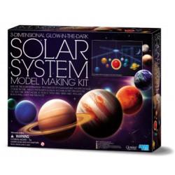Solar system model making 4 m
