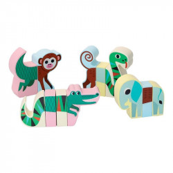 Animales magnéticos jungla...